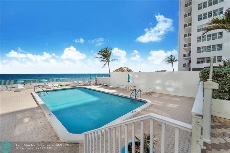 Photo of 3750 GALT OCEAN DR #1404, Fort Lauderdale, FL 33308 (MLS # F10298125)
