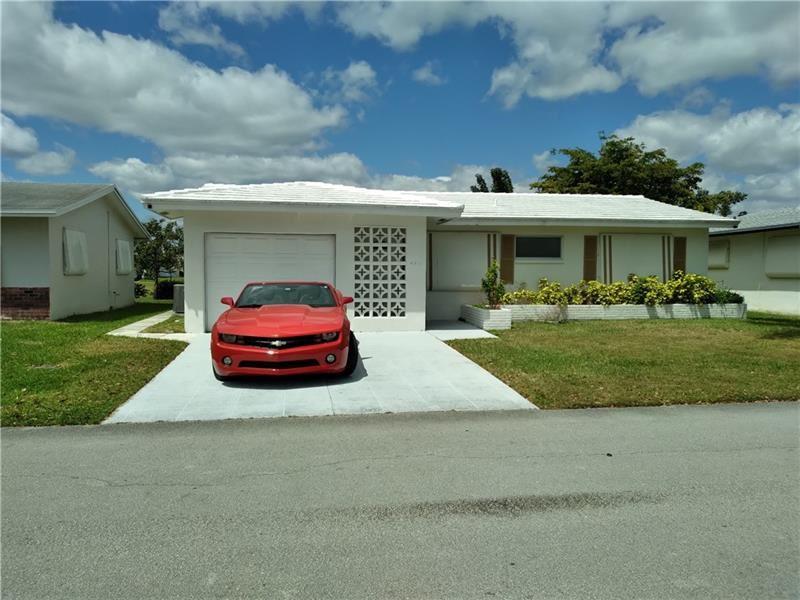 4811 NW 48th Ave, Tamarac, FL 33319 - MLS#: F10277129