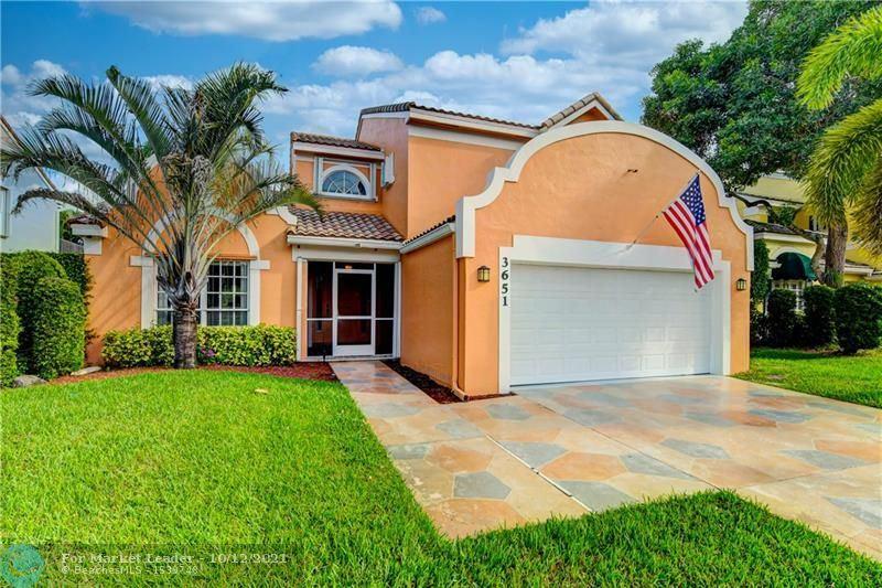 Photo of 3651 NW 71st St, Coconut Creek, FL 33073 (MLS # F10302129)