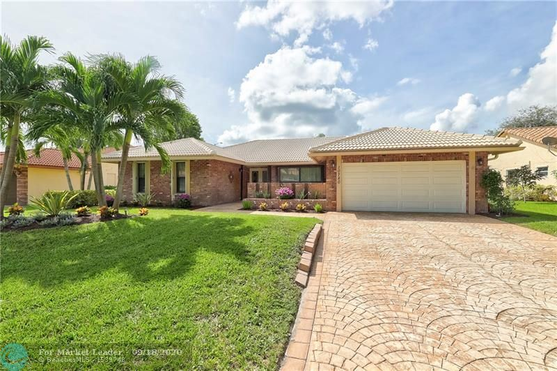 10780 NW 8th Ct, Coral Springs, FL 33071 - #: F10249132