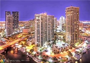 Photo of 347 N NEW RIVER DR E #2104, Fort Lauderdale, FL 33301 (MLS # F10189133)