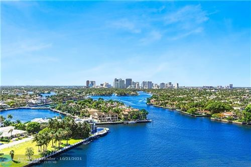 Photo of 3055 HARBOR DR #1802, Fort Lauderdale, FL 33316 (MLS # F10305135)