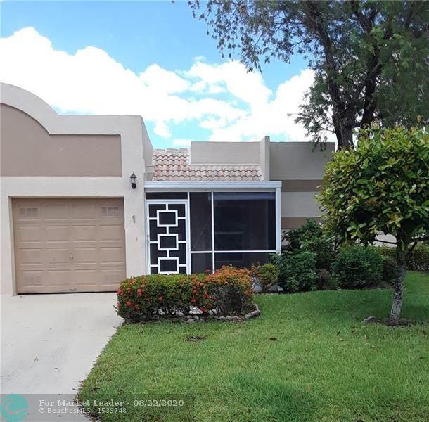 18760 Haywood Terrace #1, Boca Raton, FL 33496 - #: F10231135