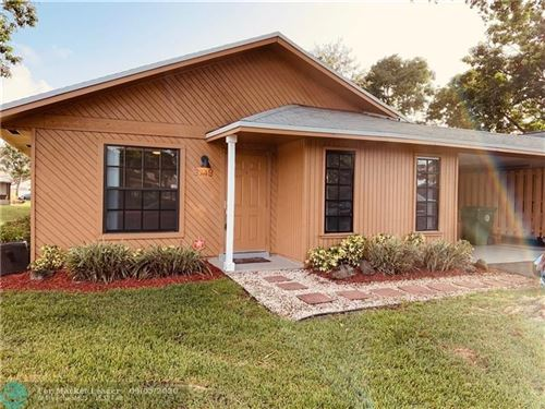 Photo of 3749 W Citrus Trce #12, Davie, FL 33328 (MLS # F10247138)