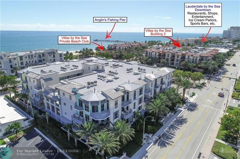 Photo of 4445 El Mar Dr #2303, Lauderdale By The Sea, FL 33308 (MLS # F10260138)