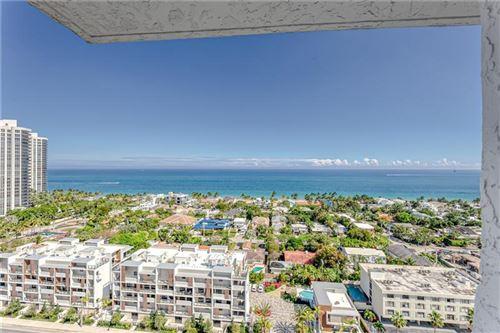 Photo of 3015 N Ocean Blvd #PH-6, Fort Lauderdale, FL 33308 (MLS # F10272140)