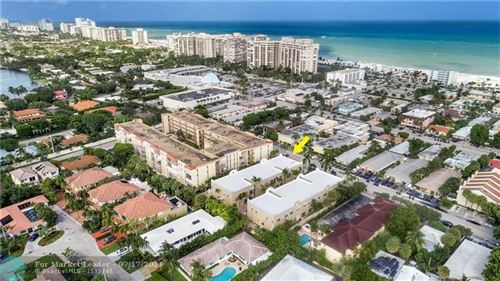 Photo of 4625 Poinciana St #9, Lauderdale By The Sea, FL 33308 (MLS # F10293141)