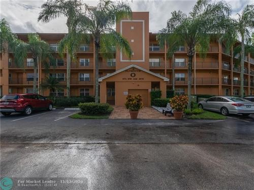 Photo of 571 SW 142nd Ave #108-O, Pembroke Pines, FL 33027 (MLS # F10258147)