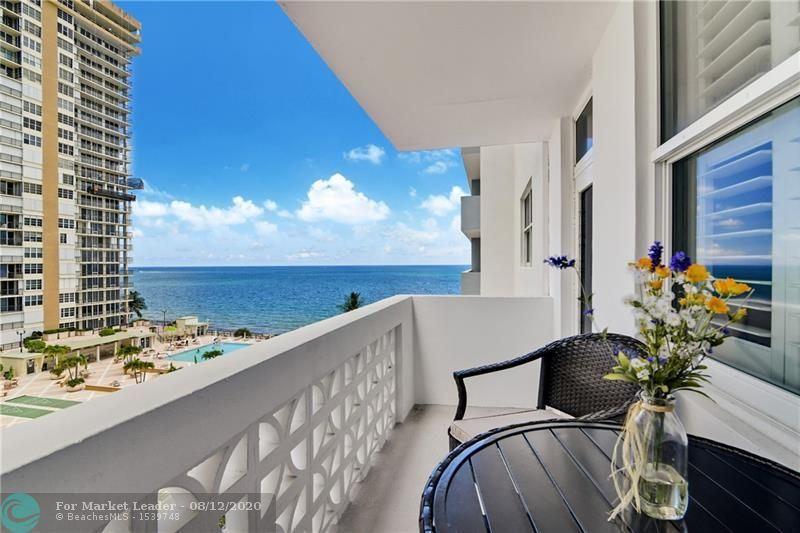 Photo of 4250 Galt Ocean Dr #7L, Fort Lauderdale, FL 33308 (MLS # F10243147)