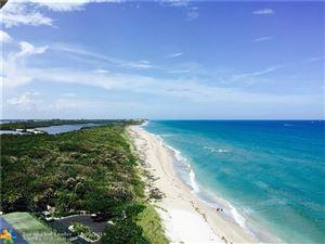 Photo of Listing MLS f10194150 in 5550 N Ocean Dr #11-C Riviera Beach FL 33404