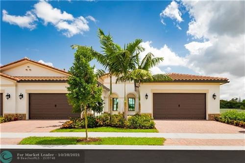 Photo of 8338 W BLUE SPRING DRIVE, Parkland, FL 33067 (MLS # F10306150)