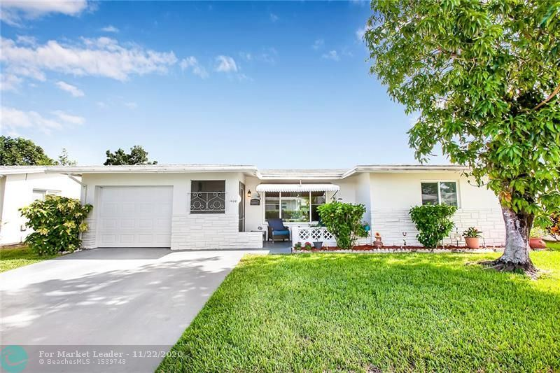 Photo of 1430 NW 69th Ave, Margate, FL 33063 (MLS # F10259152)