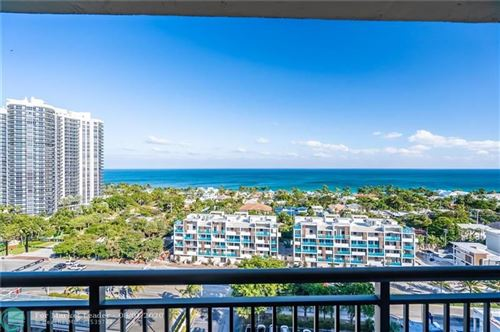 Photo of 3031 N Ocean Blvd #1704, Fort Lauderdale, FL 33308 (MLS # F10213153)