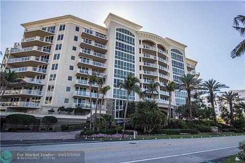 Photo of 1063 Hillsboro Mile #703, Hillsboro Beach, FL 33062 (MLS # F10253153)