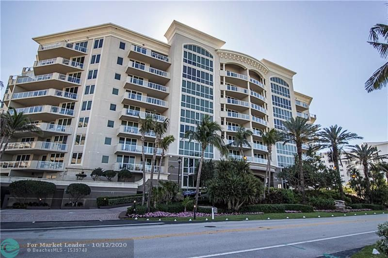 1063 Hillsboro Mile #703, Hillsboro Beach, FL 33062 - MLS#: F10253153