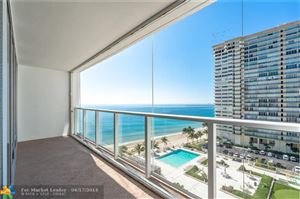 Photo of 4300 N Ocean Blvd #10k, Fort Lauderdale, FL 33308 (MLS # F10111154)