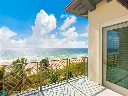 Photo of 4510 E El Mar Dr #404, Lauderdale By The Sea, FL 33308 (MLS # F10264154)