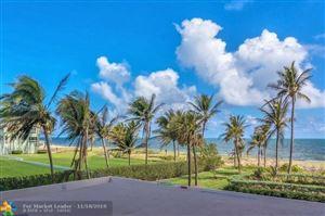 Photo of 5200 N Ocean Blvd #204, Lauderdale By The Sea, FL 33308 (MLS # F10150155)