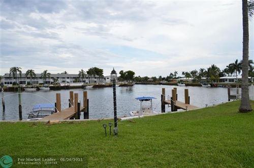 Photo of 600 Pine Drive #202, Pompano Beach, FL 33060 (MLS # F10268155)
