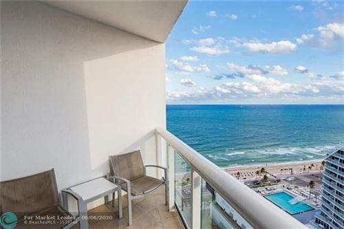 Photo of 505 N Fort Lauderdale Beach Blvd #2403, Fort Lauderdale, FL 33304 (MLS # F10232156)