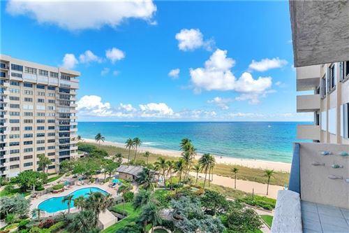 Photo of 5000 N Ocean Blvd #810, Lauderdale By The Sea, FL 33308 (MLS # F10272156)