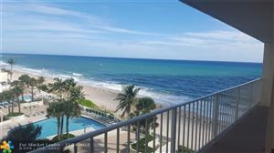 Photo of 4100 Galt Ocean Dr #611, Fort Lauderdale, FL 33308 (MLS # F10135165)