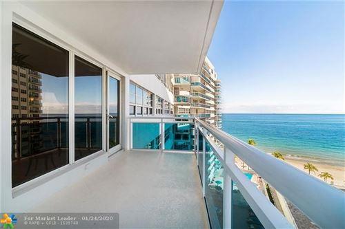 Photo of 3430 Galt Ocean Dr #1111, Fort Lauderdale, FL 33308 (MLS # F10210167)