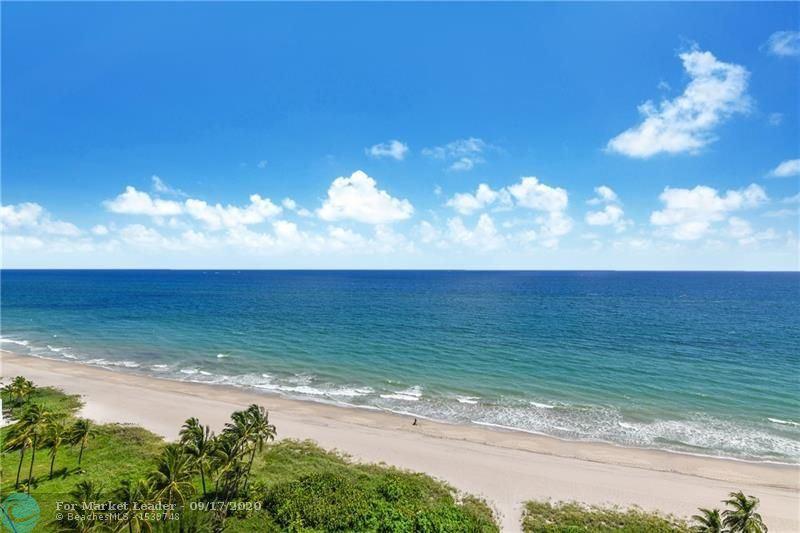 1390 S OCEAN BlVD #15C, Pompano Beach, FL 33062 - MLS#: F10249167