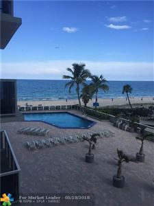 Photo of 3700 Galt Ocean Dr #309, Fort Lauderdale, FL 33308 (MLS # F10123170)