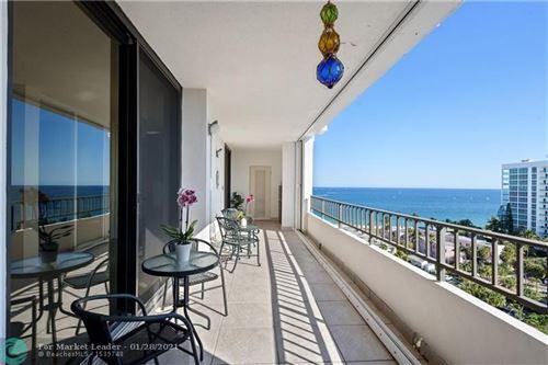 Photo of 1401 S Ocean Blvd #1202, Pompano Beach, FL 33062 (MLS # F10268174)