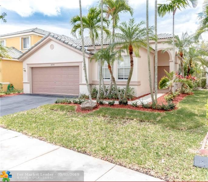 Photo for 1894 Silverbell Ter, Weston, FL 33327 (MLS # F10174175)