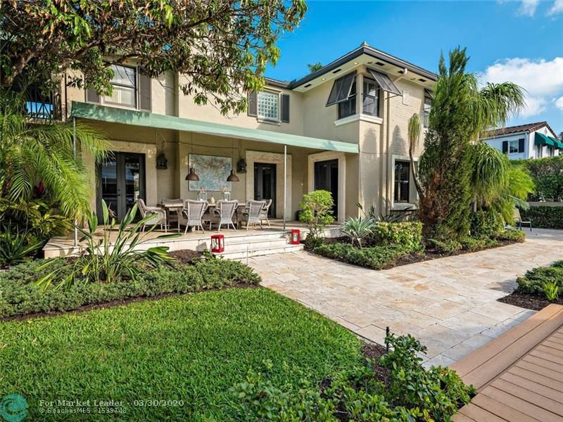 Photo of 433 ISLE OF PALMS DR, Fort Lauderdale, FL 33301 (MLS # F10191178)