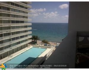 Photo of 4010 GALT OCEAN DR #716, Fort Lauderdale, FL 33308 (MLS # F10117180)