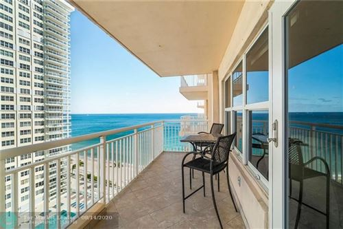 Photo of 3850 Galt Ocean Dr #1409, Fort Lauderdale, FL 33308 (MLS # F10204182)