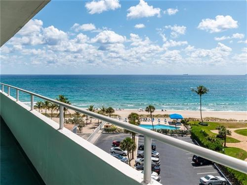 Photo of 4050 N Ocean Drive #703, Lauderdale By The Sea, FL 33308 (MLS # F10278182)
