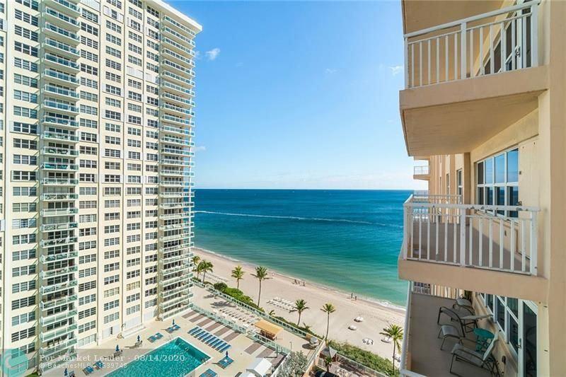 Photo of 3850 Galt Ocean Dr #1409, Fort Lauderdale, FL 33308 (MLS # F10204182)