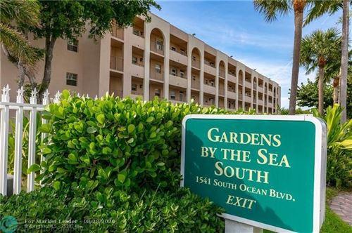 Photo of 1541 S Ocean Blvd #111, Lauderdale By The Sea, FL 33062 (MLS # F10246184)