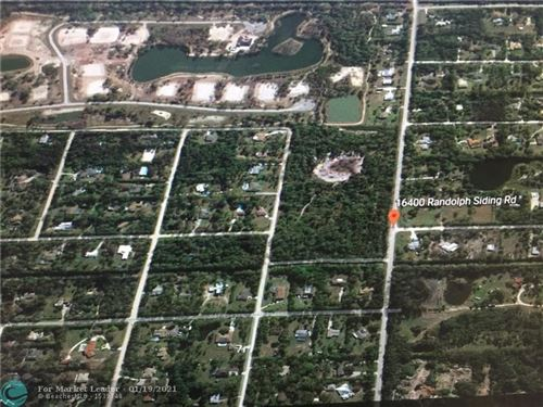 Photo of 16400 Randolph Siding Rd, Palm Beach, FL 33478 (MLS # F10267184)