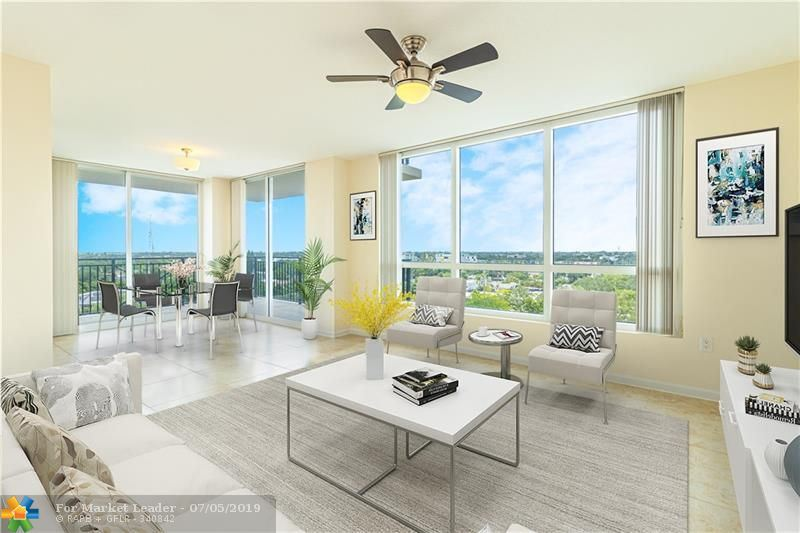 Photo for 610 W Las Olas Blvd #813, Fort Lauderdale, FL 33312 (MLS # F10183185)