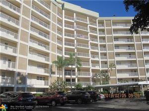 Photo of 3090 N Course Dr #111, Pompano Beach, FL 33069 (MLS # F10168187)