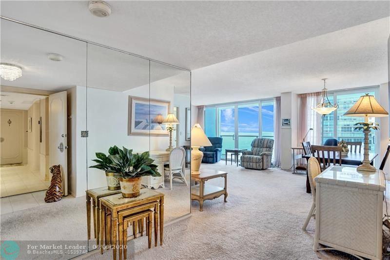 Photo of 4300 N Ocean Blvd #19K, Fort Lauderdale, FL 33308 (MLS # F10222187)