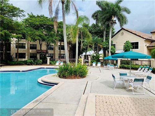 Photo of 4421 W Mcnab Rd #22, Pompano Beach, FL 33069 (MLS # F10268189)