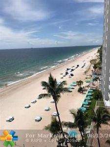 Photo of 3800 Galt Ocean Dr #806, Fort Lauderdale, FL 33308 (MLS # F10136190)