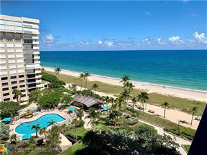 Photo of 5000 N Ocean Blvd #1010, Lauderdale By The Sea, FL 33308 (MLS # F10197191)