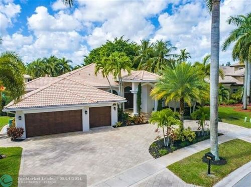 Photo of 10996 Blackhawk Street, Plantation, FL 33324 (MLS # F10273191)