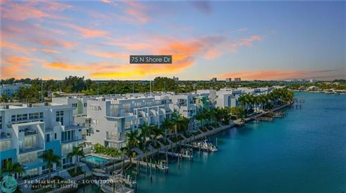 Photo of 75 N Shore Dr. #75, Miami, FL 33141 (MLS # F10252192)