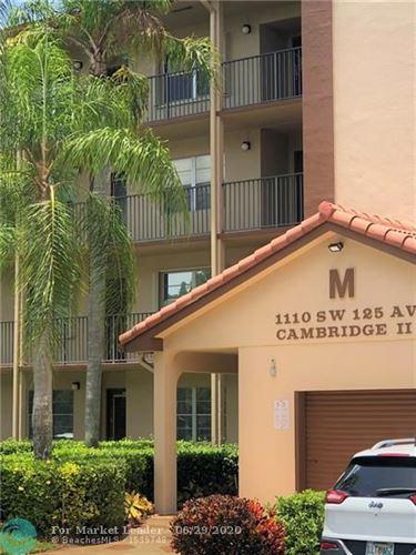 Photo of 1110 SW 125 AVE #312, Pembroke Pines, FL 33027 (MLS # F10236193)