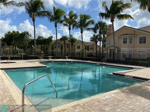 Foto de inmueble con direccion 1601 Belmont Ln #1601 North Lauderdale FL 33068 con MLS F10244194