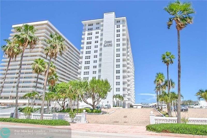 Photo of 4010 GALT OCEAN DR #1411, Fort Lauderdale, FL 33308 (MLS # F10222196)
