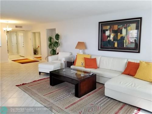 Photo of 3430 Galt Ocean Dr #411, Fort Lauderdale, FL 33308 (MLS # F10253198)